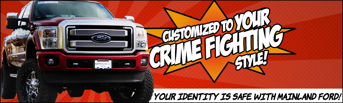 Customize Your Ride with Mainland Ford