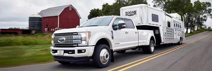 Ford F150 Towing Trailer